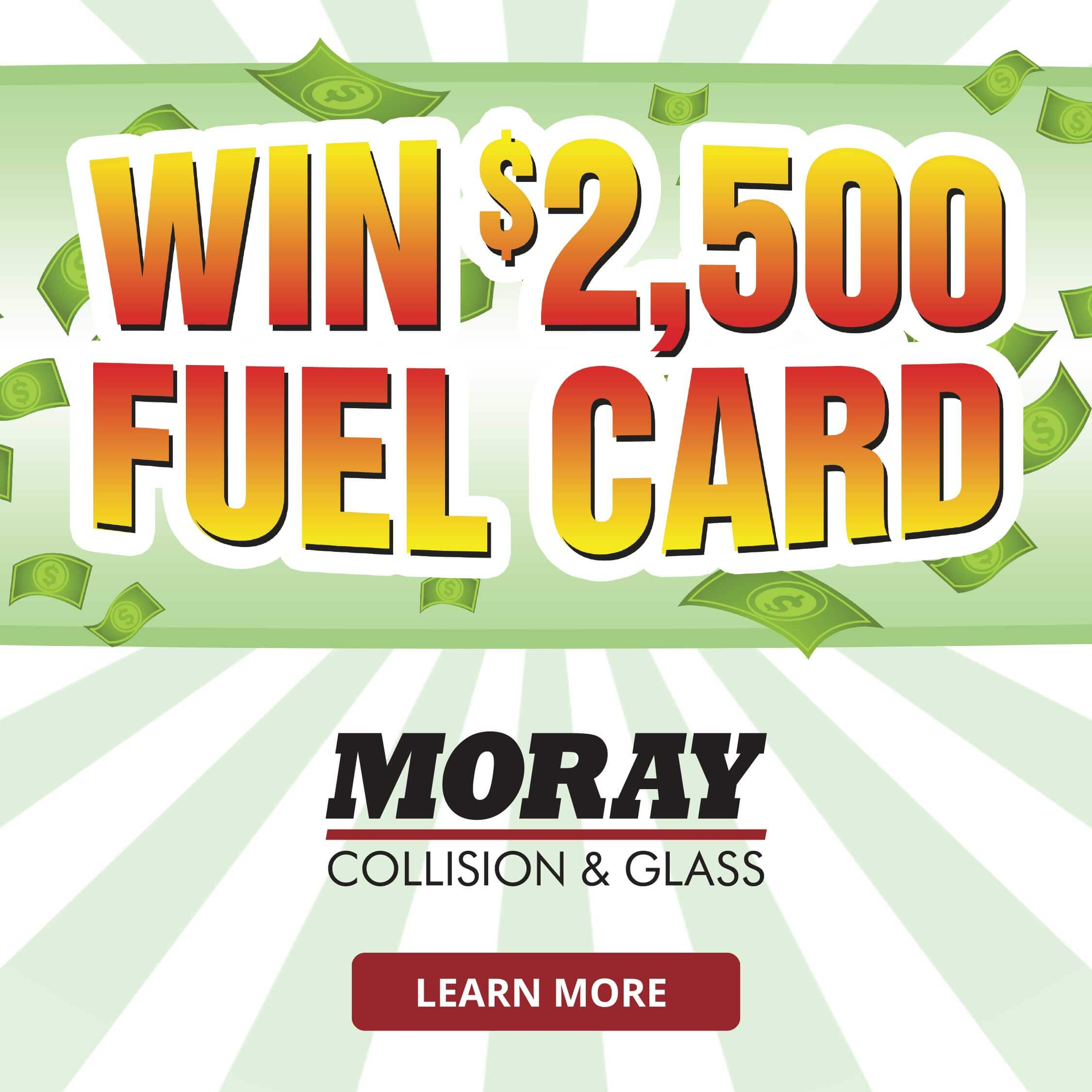 Win Free Fuel - Moray Collision